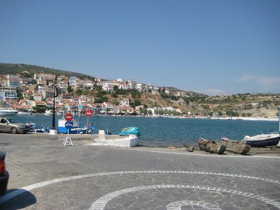 Pythagorion, Grèce : Zona porto