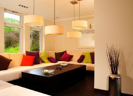 Hotel Friends Mittelrhein: Lounge im Erdgeschoss