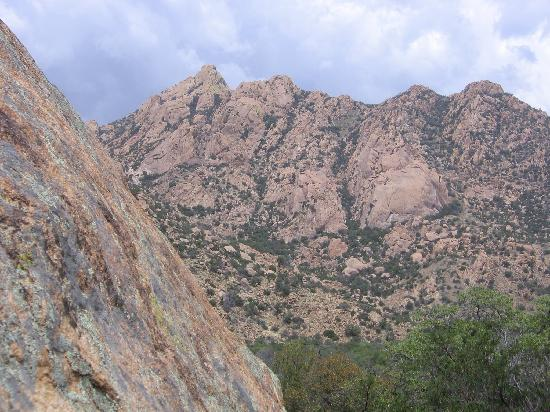 Cochise Stronghold: photo from park