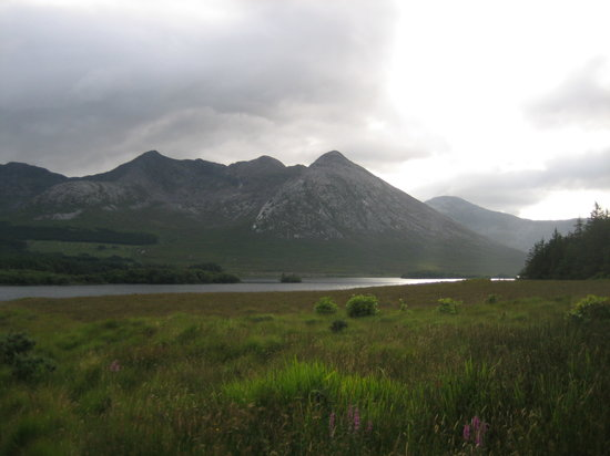 Lough Inagh Lodge: View from Hotel