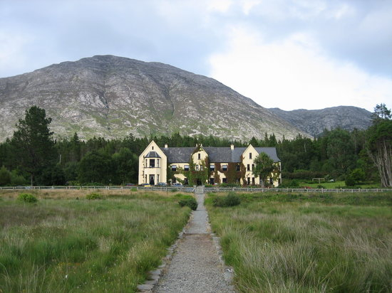 Recess, Irland: Lough Inagh Lodge