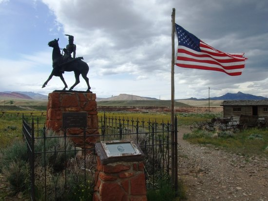 Cody, WY : Tombe de Jeremiah Johnson