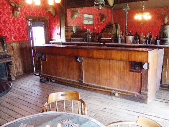 Old Trail Town : Le saloon