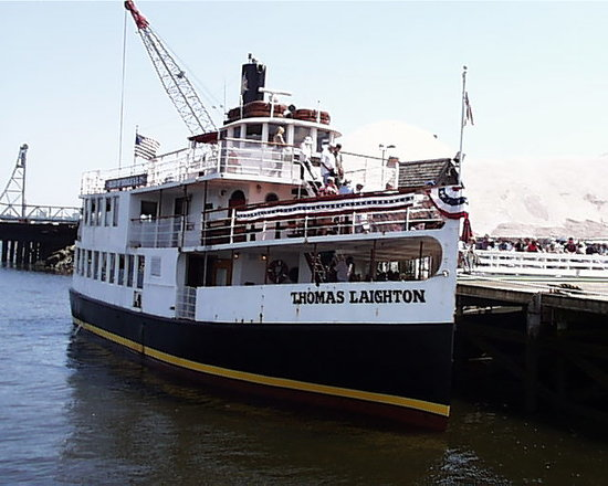 Portsmouth, NH: Steamship M/V Thomas Leighton