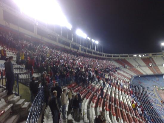 Estadio Vicente Calderon: End of the game!
