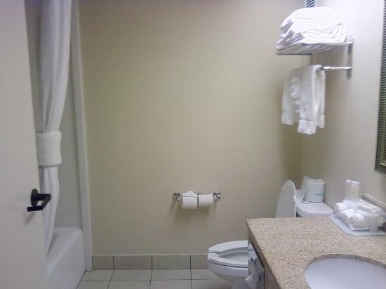 Holiday Inn Express Chester: Bathroom