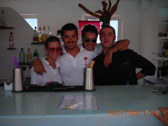 Mykonos Star: Elisa-Ale-Livio-Roberto