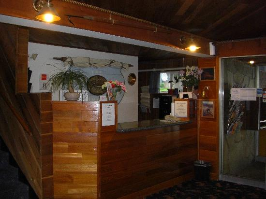 View of Front Desk at Breakwater Inn