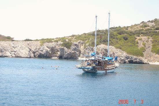 Aegean Gate Hotel: Gulet trip