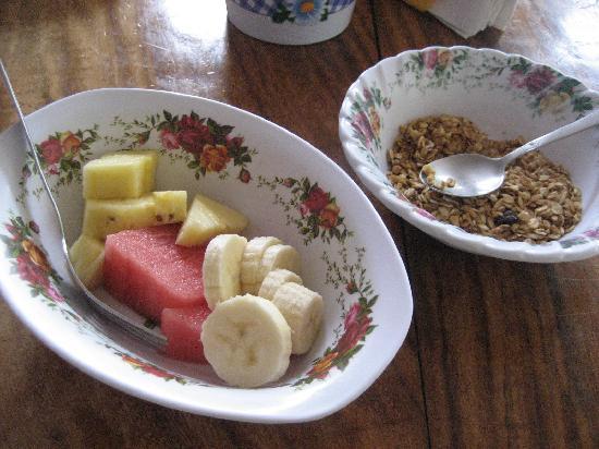 Sleepers Sleep Cheaper Hostel: This is just half of our breakfast!