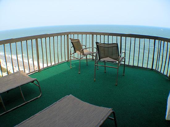 The Reef Myrtle Beach: Wrap-Around Penthouse Balcony