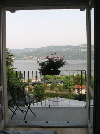 Hotel Ristorante Belvedere: View out our bedroom balcony window