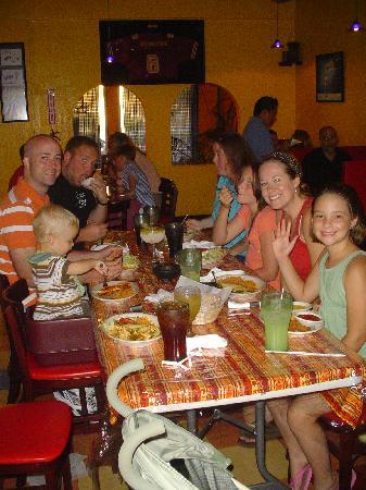 Carlitos Mexican Bar Grill My Family Eating At