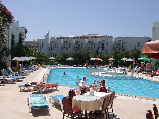 Hotel Serpina: pool side