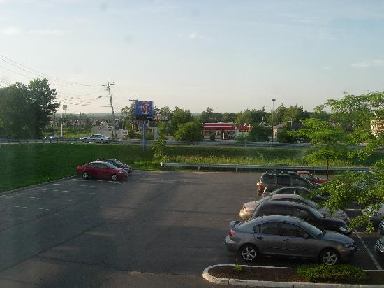 Motel 6 Portland: View from room