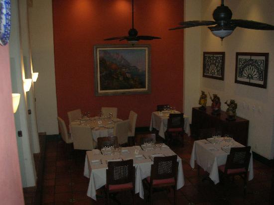 Hotel Casa do Amarelindo: the restaurant (inside)