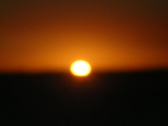 Hotel Casa do Amarelindo: sunset
