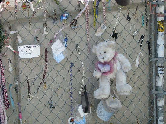 Oklahoma City National Memorial & Museum: THE fence......prepare for tears, I warn you.