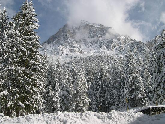 Mercure Dolomiti Hotel Boite: Quanta neve!