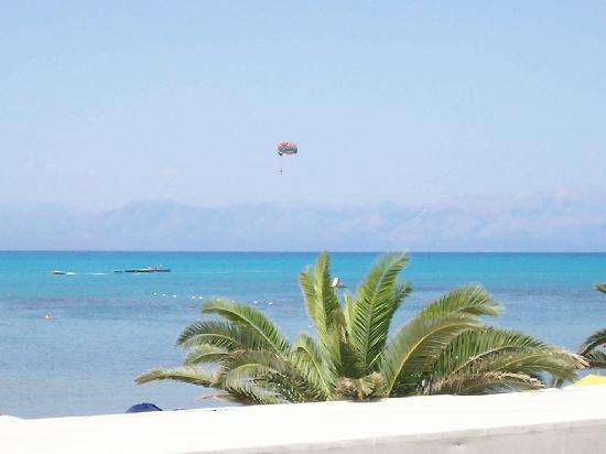 Sidari, Grèce : Paragliding - it was great!