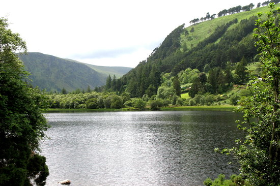 Vale of Glendalough, Ierland: Glendalough Lower Lake