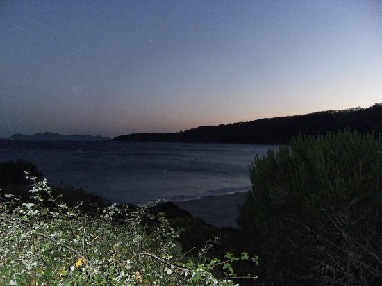 Galicia, España: playa de Barra