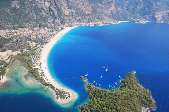 Oludeniz, Turkey: from another point
