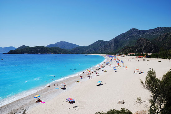 Oludeniz, Turkije: the coast