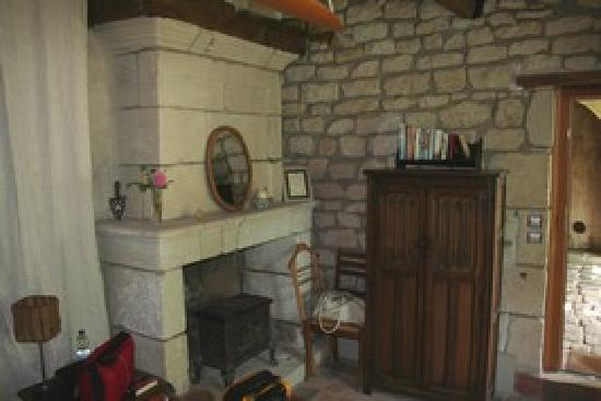 La Grande Maison d'Arthenay: The Wine Room - inside 2