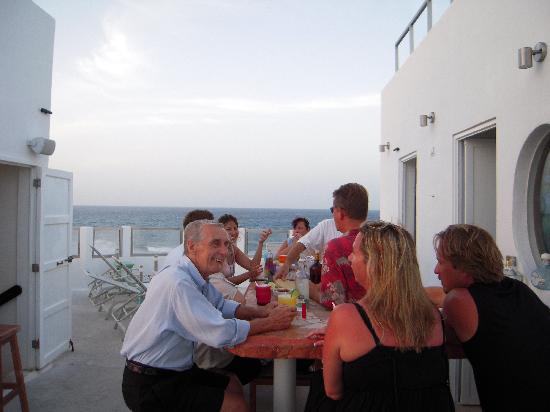 Casa Sirena Hotel : happy hour again