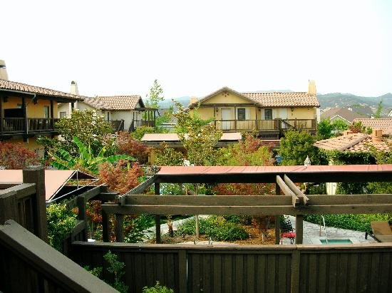The Lodge at Sonoma Renaissance Resort & Spa: View from balcony