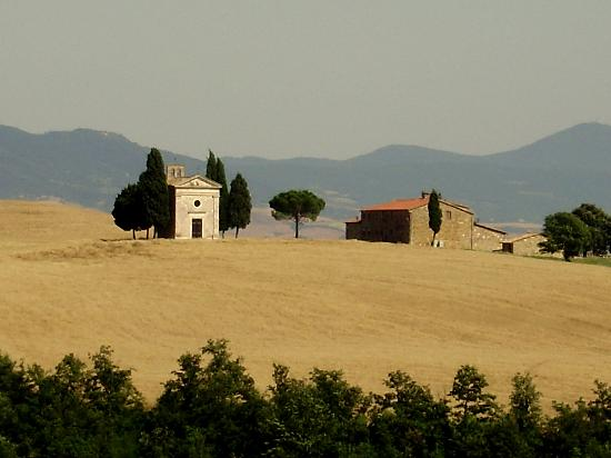 Sant' Antonio: On the road towards Montalcino