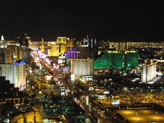 View from Foundation Room - Picture of Foundation Room, Las Vegas ...