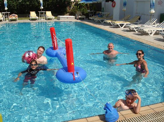 Michalis studios apartments kos pic 1 picture of - Pool volleyball ...