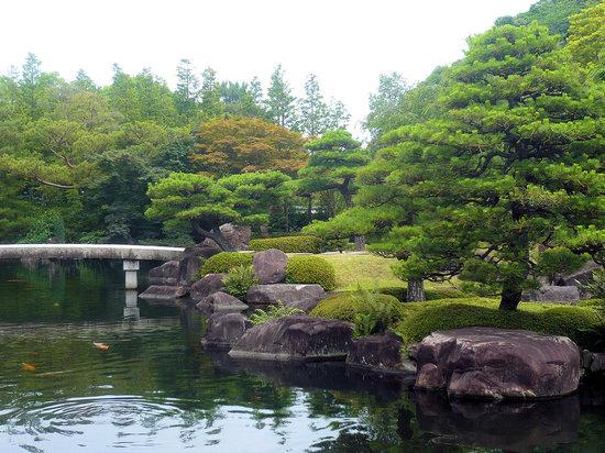 Himeji, Japan: Etang