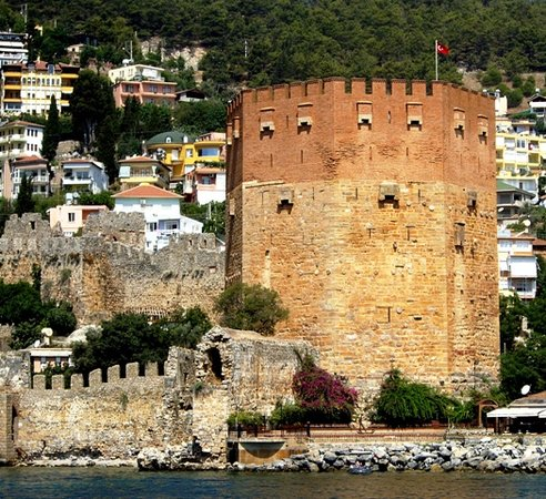Alanya, Turquie : Red Tower