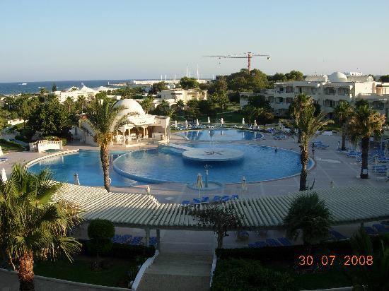 Hotel Le Royal Hammamet: view from our suite
