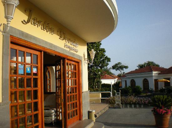 Rezeption bungalow bild von eo suite hotel jardin dorado for Bungalows jardin dorado