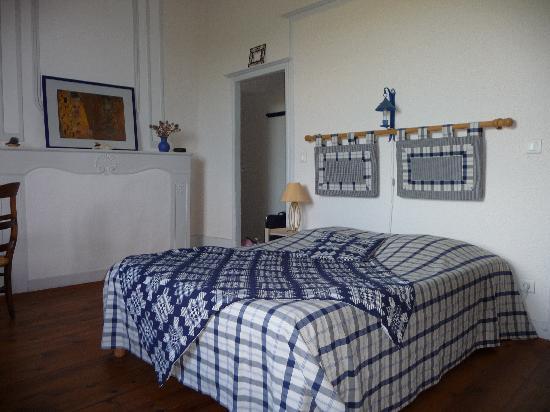 Ermitage Saint-Vincent: La chambre