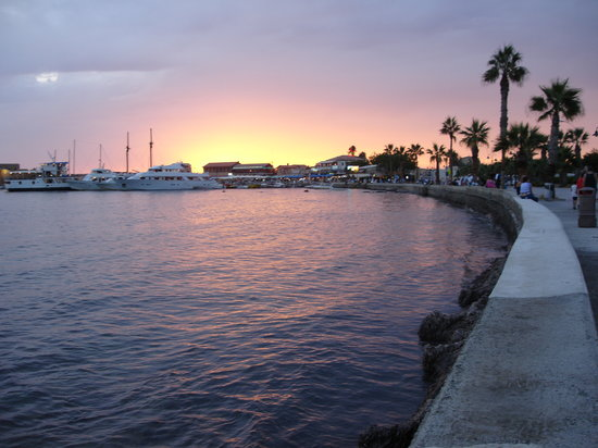 Paphos venecian harbour