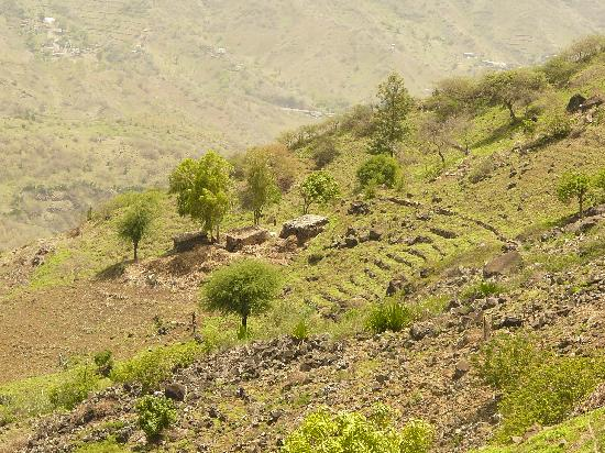 Santiago, Cape Verde: randonnée vers sao jorge