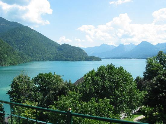 St Gilgen, Autriche : Ausblick vom Balkon