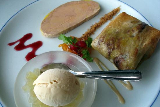 Le Relais des Cinq Chateaux : Three ways to eat foie gras - starter