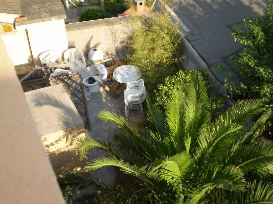 Hotel Excelsior Vanna & Hotel del Molo: Balcone sul giardino interno