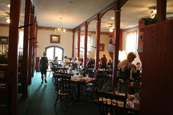 The interior of vintage restaurant picture