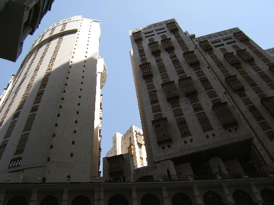 Makkah Hilton Hotel: The tower view