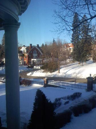 Olcott House Bed and Breakfast Inn: View from the suite