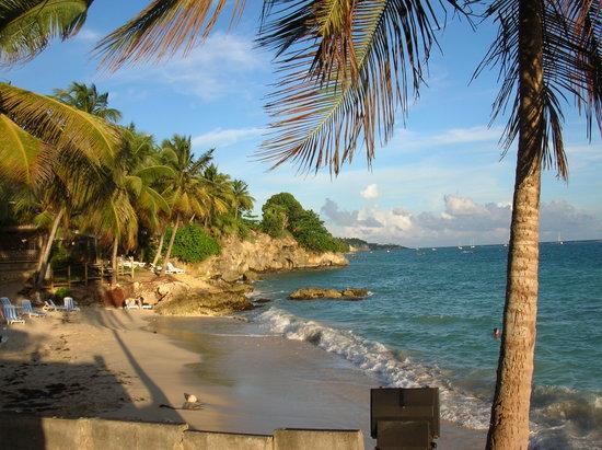 Le Gosier, Guadeloupe: la plage