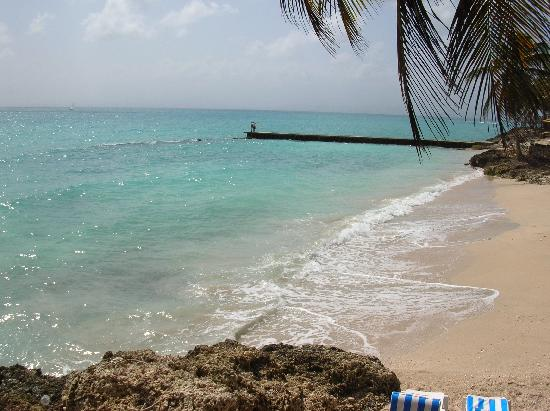 Auberge de la Vieille Tour: la plage