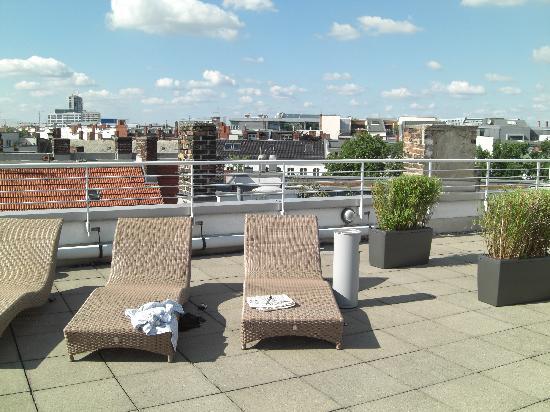 NH Berlin Kurfürstendamm : roof top terrace